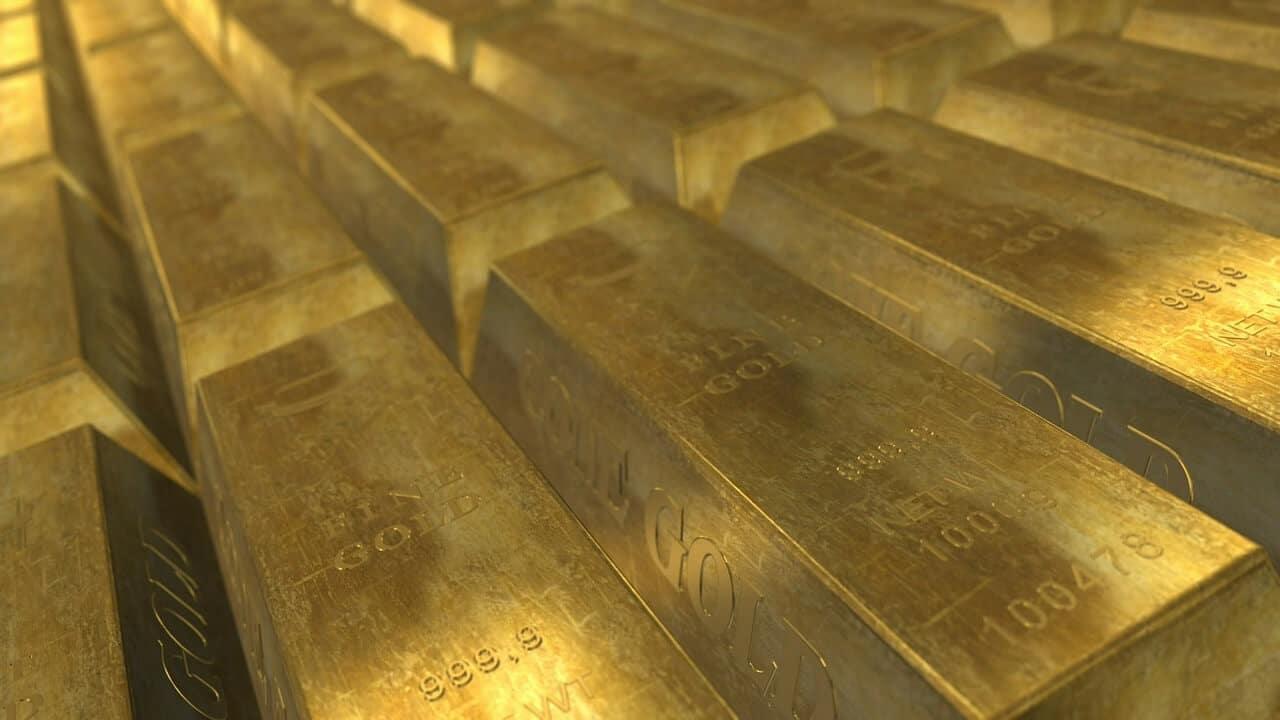 Die erste Million Goldbarren