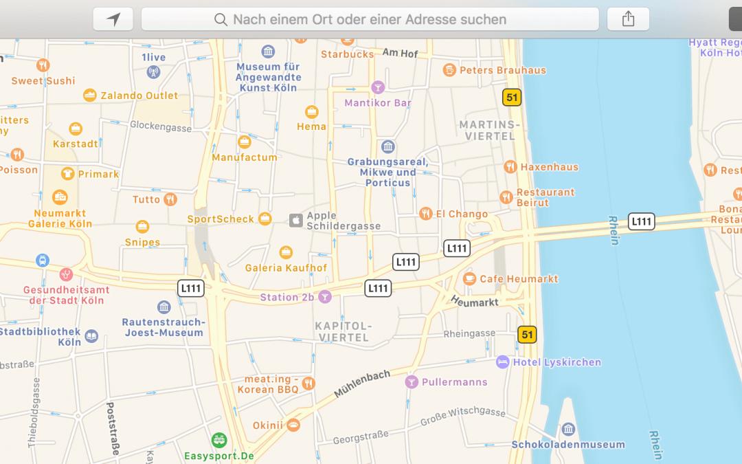 Geld verdienen mit Apple Maps