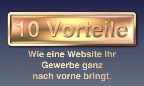 Top 10 Vorteile einer eigenen Website
