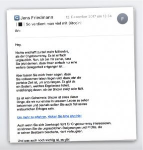 Jens Friedmann Mails