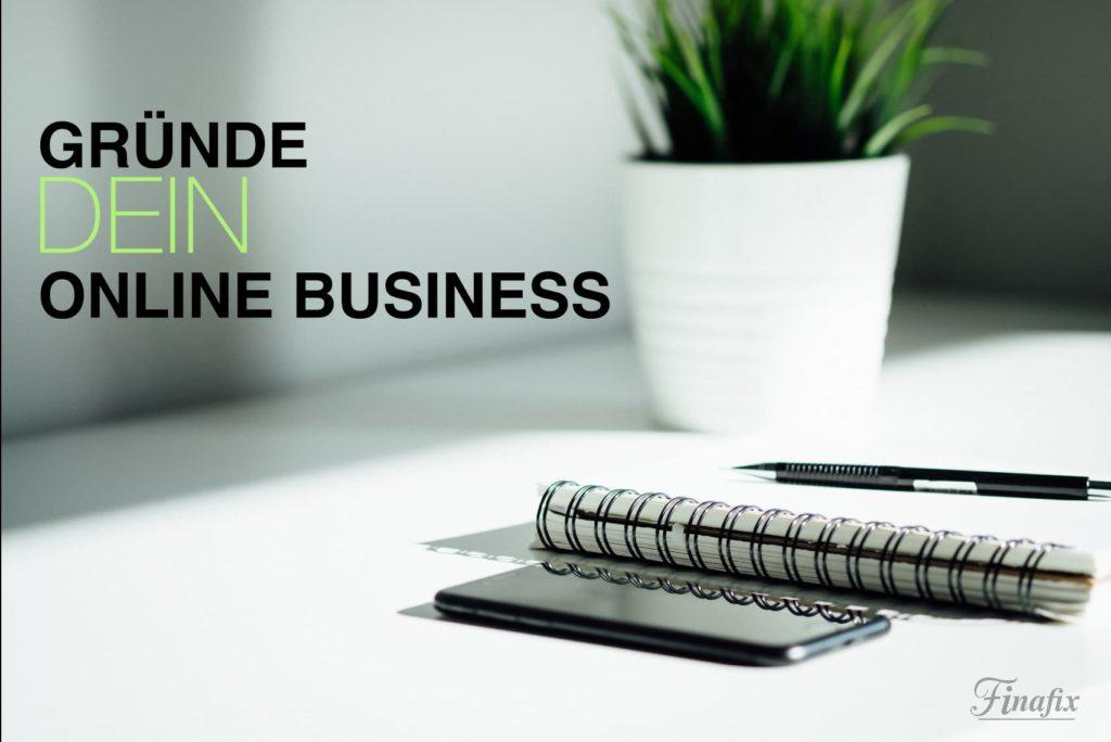 Online Business gründen