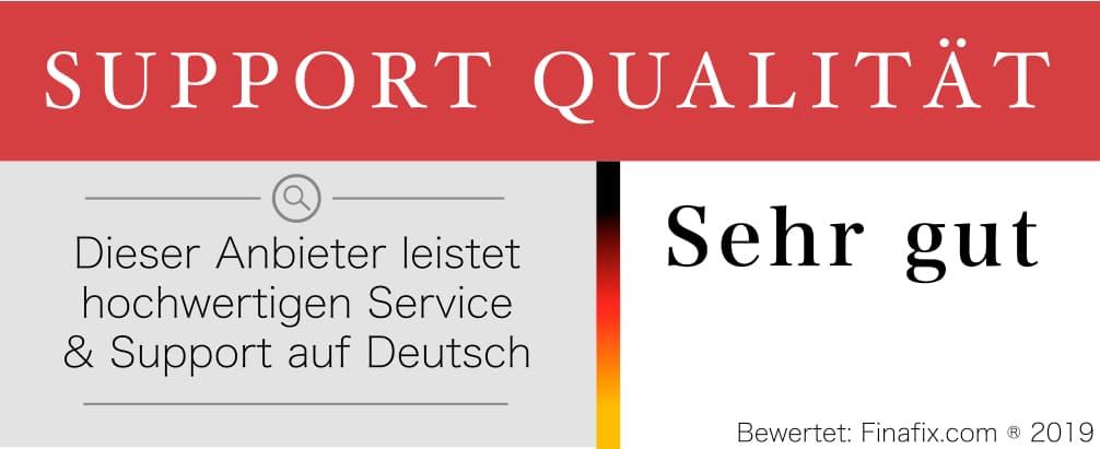 Support Qualität