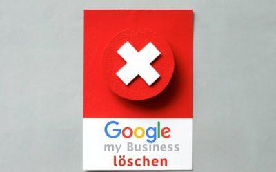 google my business löschen
