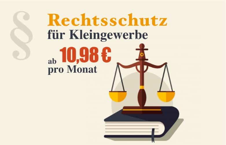 Rechtsschutz für Kleingewerbe