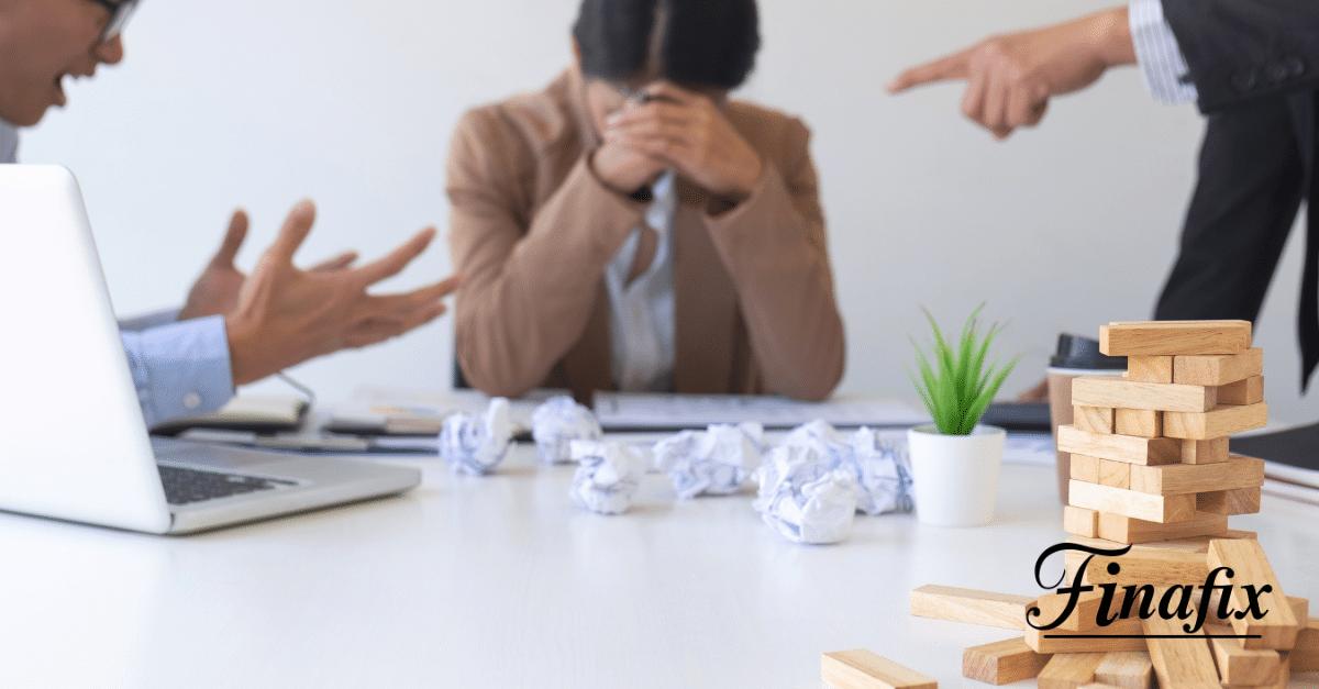Schulden für ein Unternehmen