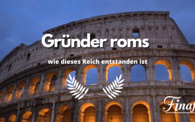 Gründer Roms – 3 Legenden