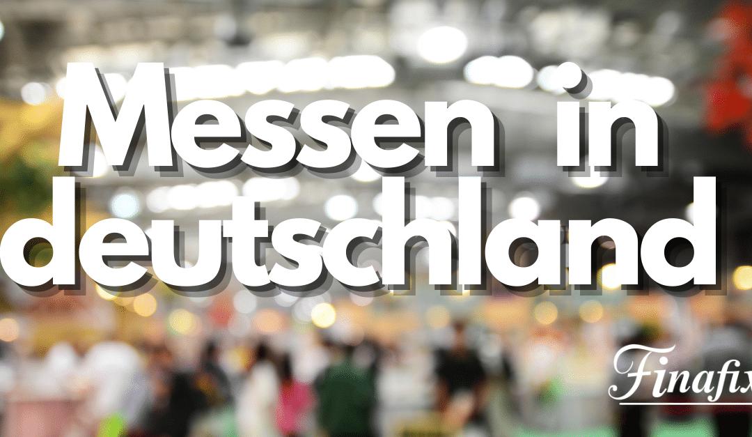 Messen in Deutschland