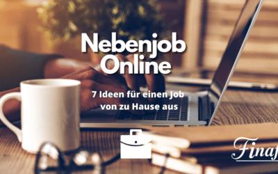 Nebenjob online – 7 Ideen zum nachmachen