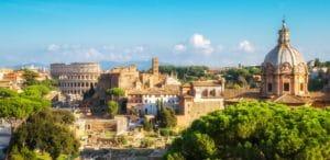 Rom Skyline Gründung